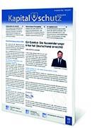 """Ausgabe """"Kapitalschutz vertraulich"""""""