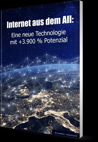 """Sonderreport """"Internet aus dem All: Eine neue Technologie mit +3.900 % Potenzial"""""""