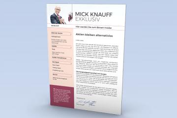Mick Knauff EXKLUSIV