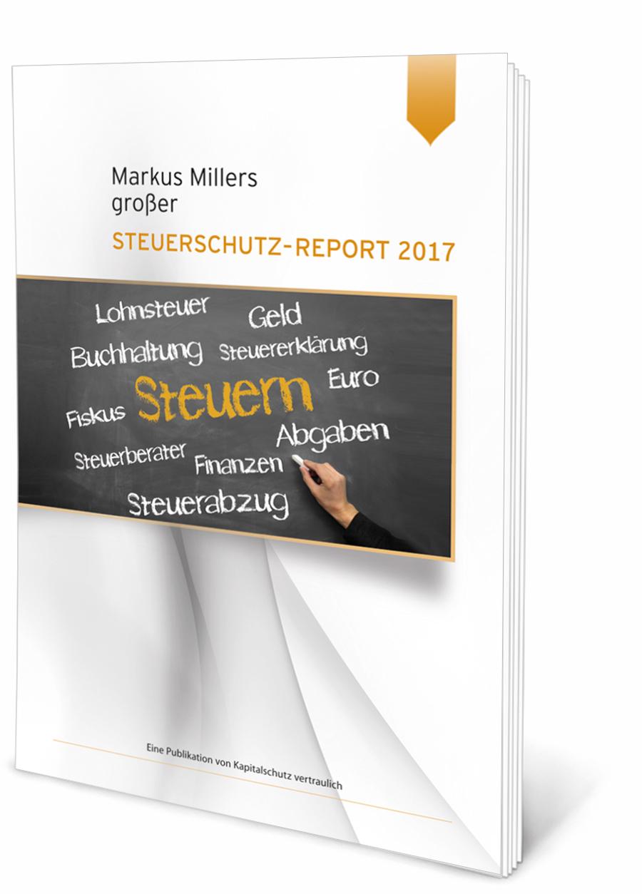 Kapitalschutz vertraulich - Steuerschutz-Report